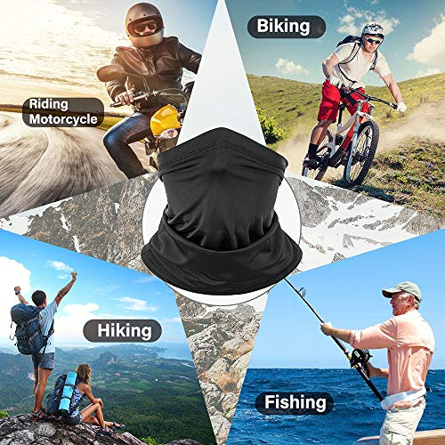 3 Pack – Neck Gaiter,Face Cover for Dust,Summer Cooling Breathable Bandanas,Best for Cycling,Running, Climbing