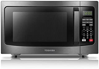 Toshiba EM131A5C-BS Microwave Oven with Smart Sensor, Easy Clean Interior, ECO Mode and..