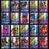 Xiaoxingyun 120 Assorted Pokemon Cards - 115 GX and 5 Mega Pokemon Cards, Pokemon Trading Card Game Cartoon Cards for Children, Includes Paper Box #5