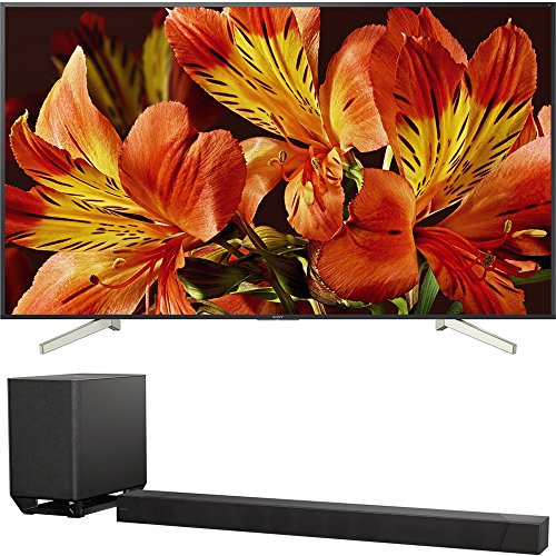 """Sony Bravia XBR85X850F 85"""" 4K HDR10 HLG Triluminos Android LCD TV with Google Assistant 3840x2160 + Sony HTST5000 7.1.2Ch 4K HDR Compatible 800W Dolby Atmos Soundbar"""