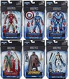 Avengers: Endgame Marvel Legends Wave 3 Set of 6 Figures (Thor BAF)
