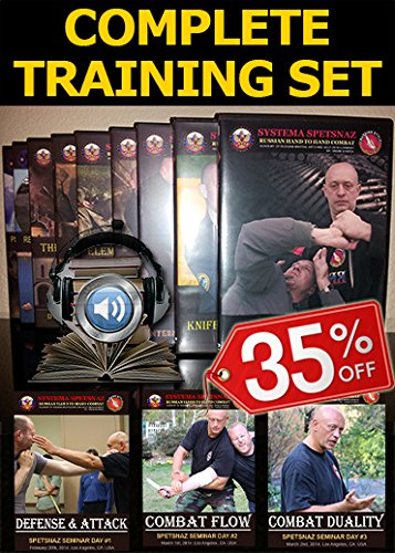 Hand-to-Hand Combat DVDs - 20 Self-Defense Training DVDs of Russian Martial Arts Systema Combat, Martial Art Instructional Videos 1