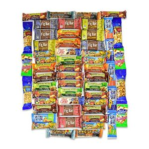 Healthy Snacks and Bars Variety Pack Gift Snack Box - Bulk Sampler (Care Package 56 Count) - College Students Final Exam… 34