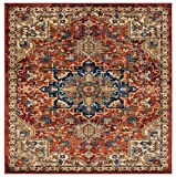 Luxe Weavers Howell Collection Red Oriental 8x10 Area Rug 2527