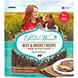 The Pioneer Woman Grain Free, Natural Dog Treats, Beef & Brisket Recipe BBQ Style Cuts - 30 Oz. Pouch