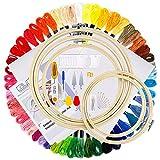 Caydo Full Range of Embroidery Starter Kit Including Instructions, 5...