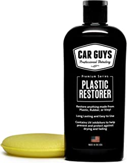 CarGuys Plastic Restorer – The Ultimate Solution for Bringing Rubber, Vinyl and..