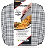 Crispamesh 14.7 Inch Square, Reusable Non-Stick Oven Crisping Mesh For Frozen/Unfrozen Food