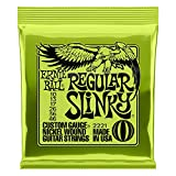 Cordes pour guitare électrique Ernie Ball Regular Slinky Nound - Calibre...