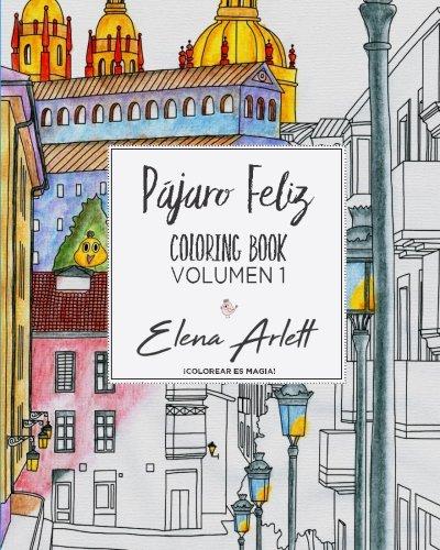 Pajaro feliz: Coloring book volumen1: Volume 1