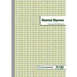 Exacompta - Réf. 13500E - 1 Manifold Recettes dépenses 29,7x21cm 50 feuillets dupli...