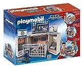 PLAYMOBIL - Cofre cuartel de Policía, Juguete Educativo, Multicolor, 35 x 10 x 25 cm, (5421)