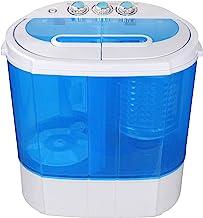 SUPER DEAL Portable Compact Washing Machine, Mini Twin Tub Washing Machine..