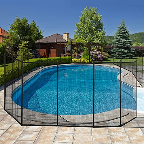 Giantex Pool Fence for In-Ground Easy DIY...
