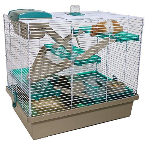 Rosewood Pet Hámster y Jaula para Animales pequeños, Verde Azulado translúcido, Una Talla