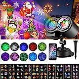 Lampe Projecteur LED de Halloween de Noël, 20 Motifs ALED LIGHT Projecteur...