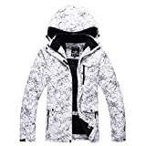 Fashion Women's High Waterproof Windproof Snowboard Colorful Printed Ski Jacket and Pants (style5, L)