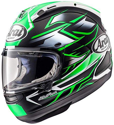 アライ(Arai) バイクヘルメット フルフェイス RX-7X GHOST 緑 61-62cm