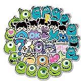 HONGC Dibujos Animados Anime Lindo Maleta Pegatinas Maleta Guitarra Skater Cuenta Pegatinas 40 Piezas