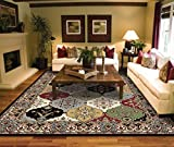 Traditional Black Area Rugs 5x7 Under 50 Prime Rugs