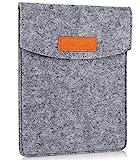 ProCase 6 Pulgadas Funda de Fieltro, Bolsa Portátil Cubierta Protectora for 5 – 6 Pulgadas Tablet Movil Smartphone, Amazon Kindle Paperwhite/Voyage/E-Reader E-Book -Gris