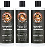 Joe Cool Cigar Propylene Glycol Solution for Cigar Humidifiers (16 oz Bottles) - 3 PACK
