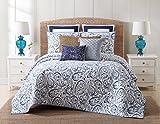 Oceanfront Resort Indienne Paisley Cotton Quilt Set, King