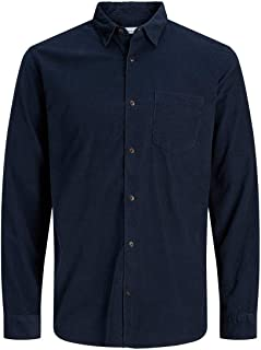 Jack & Jones Jjkendrick Shirt LS Camisa para Hombre