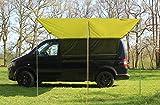 Auvent pour camping-car - vert forêt