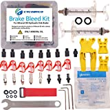 CYCOBYCO Mineral Oil Bicycle Hydraulic Disc Brake Bleed Kit for All Series Shimano/Magura/Tektro/Zoom/CSC/Echo/Giant / HS33 / Nutt Cycling (Professional kit)
