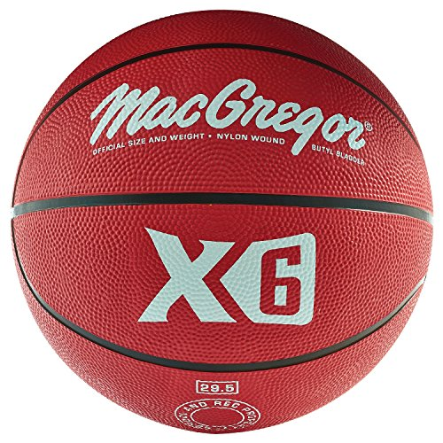 MacGregor Rubber Offical Basketball (Red)
