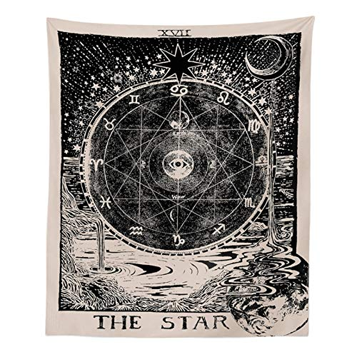 INTHouse Tarot Star Tapestry Wall Tapestry Wall Hanging...