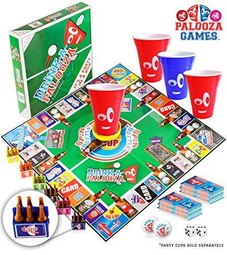 DRINK-A-PALOOZA Board Games: Party...