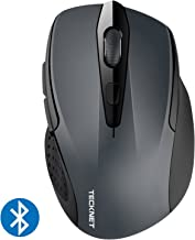 TeckNet 2600DPI Bluetooth Wireless Mouse, 12 Months Battery Life with Battery Indicator,..