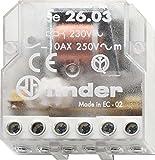 Finder 260382300000PAS Télérupteur Boîte 230 VAC 1 NO/1 NC 10 A