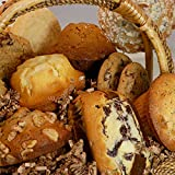 Poppie's Dough Fresh Baked Muffin and Cookie Basket (13 count) - Perfect for Quarantine Birthdays, Sympathy Gifts, Congratulations, Anniversary, Gifts for Seniors