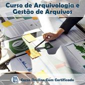 Online Course in Archivology and Certificate Management