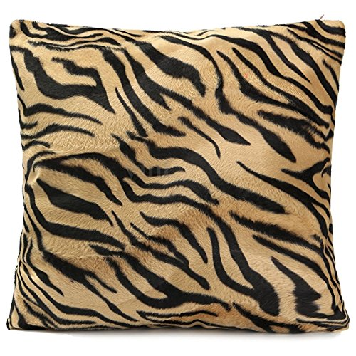 kingken creativa Animal Print Sofá Cojín Funda de almohada de decoración