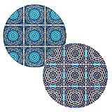 BOHORIA Lot de 2 dessous de plat en céramique de qualité...