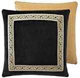 Croscill Couture Selena European Pillow Sham, Euro 26' x 26', Polyester Jacquard Weave
