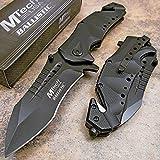 MTech USA Ballistic MTA845BK Spring Assist Folding Knife