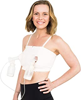 Hands Free Breast Pumping Bra | DLITE by Simple Wishes (by Moms for Moms) | Adjustable,..