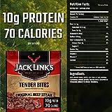 Jack Link's Tender Bites Bag, Original Beef Steak, 2.85 Ounce (Pack of 2) - 6