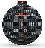 UE Roll Volcano Black Wireless Portable Bluetooth Speaker (Waterproof)