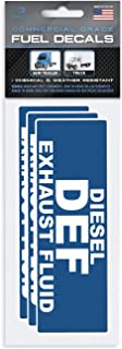 """Diesel Exhaust Fluid"" Stickers 