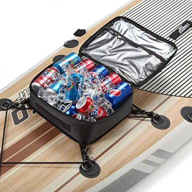 THURSO SURF SUP Deck Bag Paddle Board Cooler Mesh Top Pocket Water-Resistant Insulated 10 Can