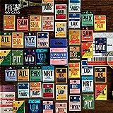 BLOUR Gran Oferta, Pegatinas de papelería de Viajero del Mundo Kawaii, Pegatinas de álbum de Recortes de planificador Kawaii, Material Escolar, papelería, Escolar