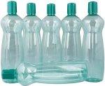 Milton 1000 ml pet bottle 6 pcs set, Green colour