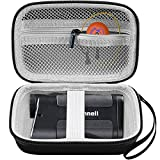Golf Rangefinder Case Comaptible with Bushnell Sport 850 DISC/Tour V4/ V2/ V5/ Z6/ Pro X2 Laser Range Finder. Rangefinders Bag for Batteries and Other Accessories with Sturdy Strap (Box Only)