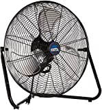 B-Air FIRTANA-20X High Velocity Electric Industrial and Home Floor Fan, 20'